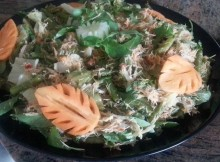 Urap (Indonesian vegetables salad)